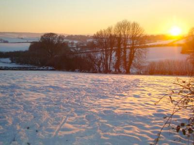 Snowy Silverton Scene