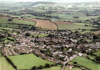 Silverton Aerial View looking Eastward