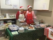 Santa's Helpers at the Christmas Tree Festival